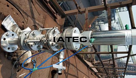 blast furnace infrared pyrometer