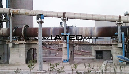 infrared line scanner for rotary kiln