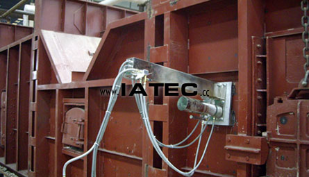 steel heating furnace camera